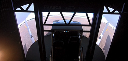 Frasca Motion Simulator