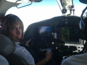 Captain Judy Rice, Ground School Instructor