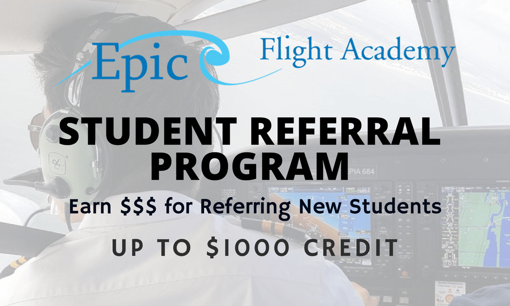 Student Referral Program Pilot Airplane