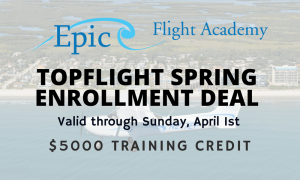 Topflight Pilot Program Spring Enrollment Deal