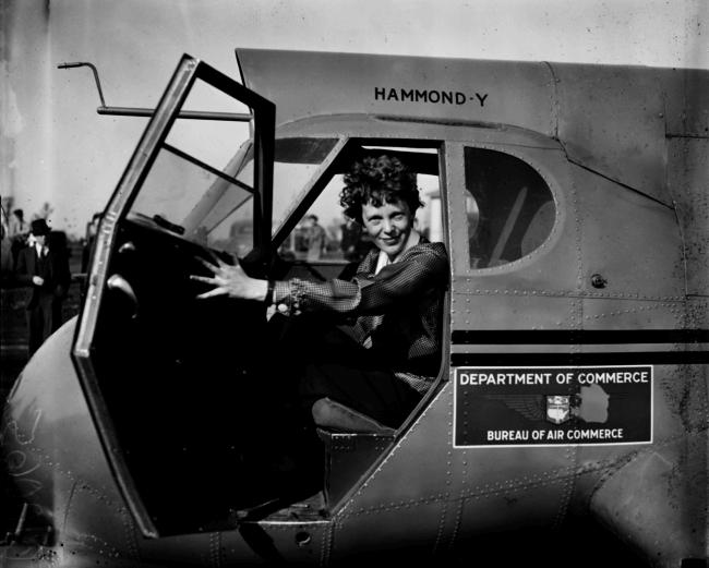 Amelia Earhart - Women in Aviation