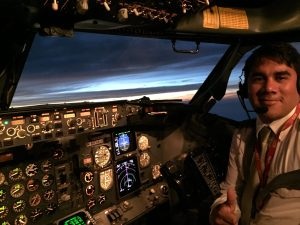 Former Peruvian Flight School Student Now Airline Pilot