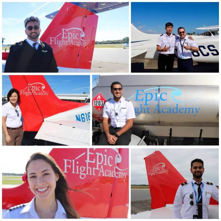 Epic Flight Academy Medical Certificate