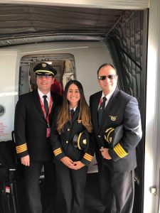 Maria Mendivelso First Officer Avianca Airlines
