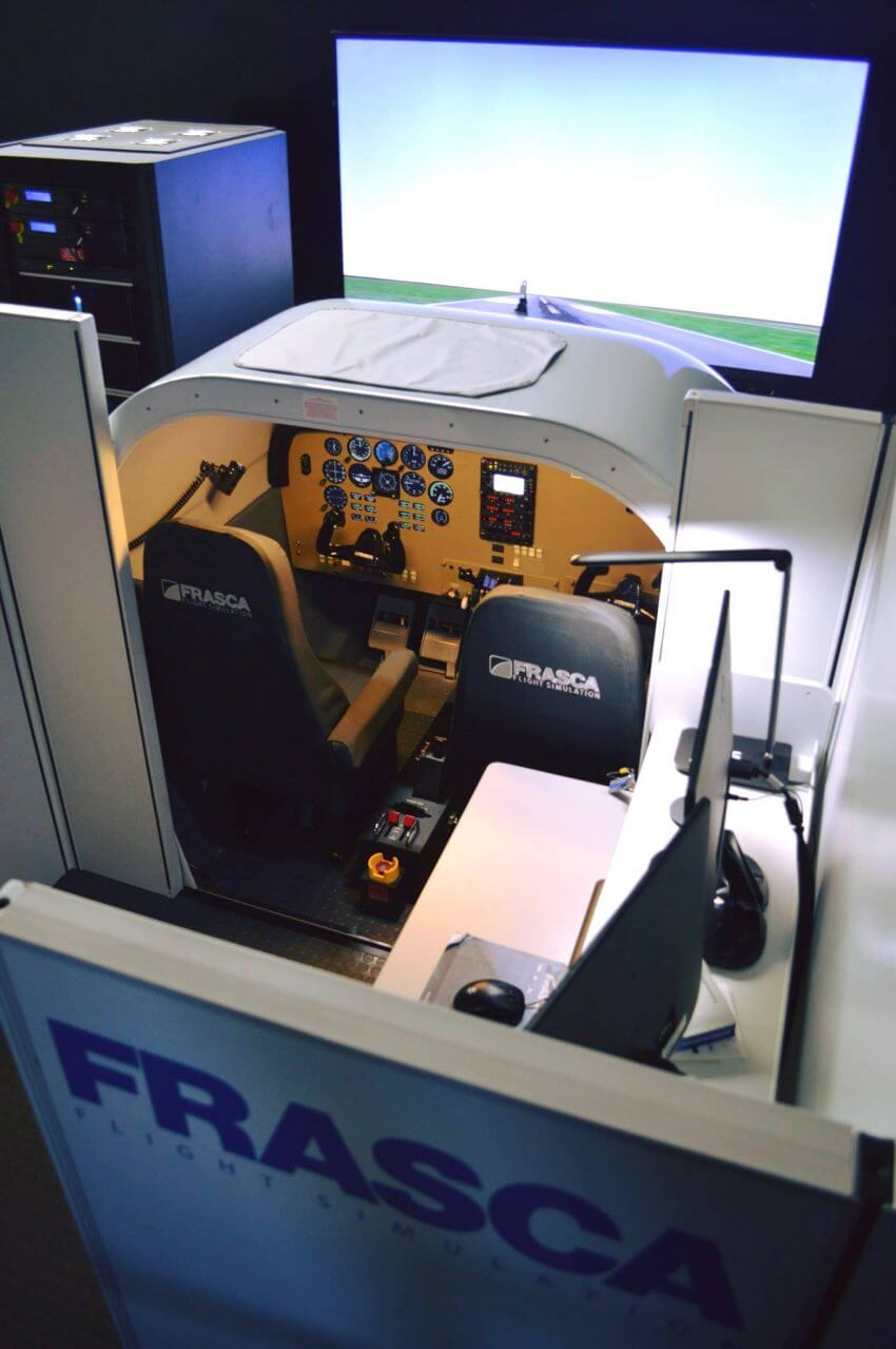 Simulator training is VA approved