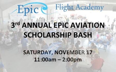 Epic Aviation Scholarship Awards