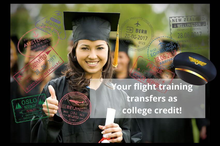 International Flight Student College Transfer