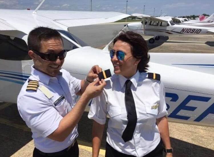 Female Private Pilot