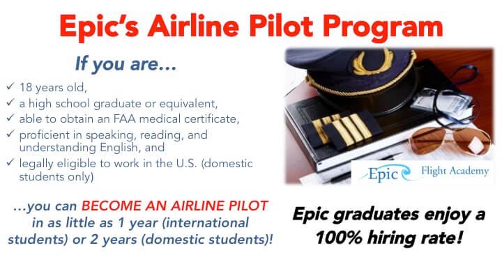 SMART Airline Pilot Program at Epic Flight Academy