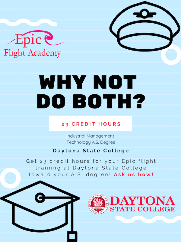 Enroll Daytona State College and Epic