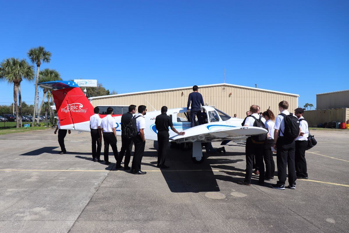 New Piper PA-44 Seminole Arrives at Epic