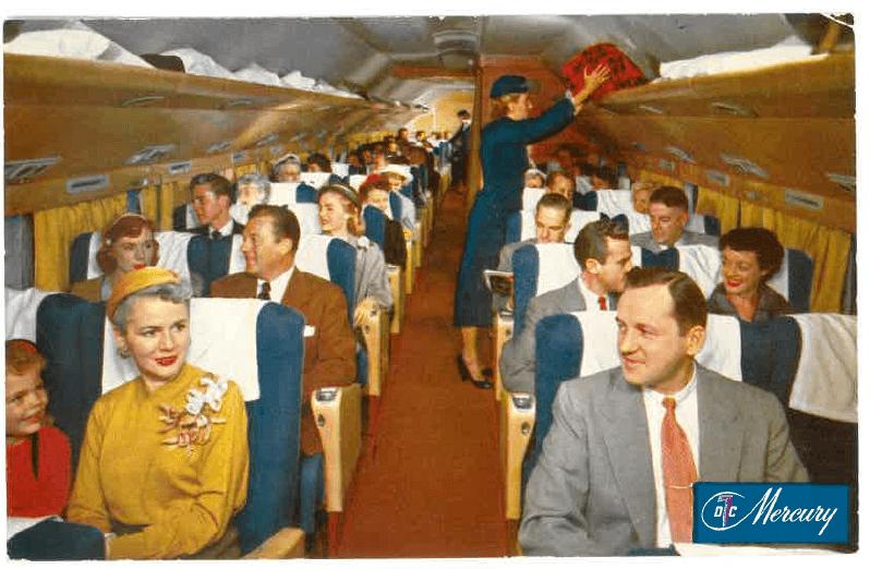 DC-7 Interior