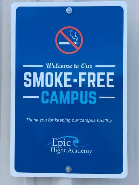 Epic is a smoke-free campus