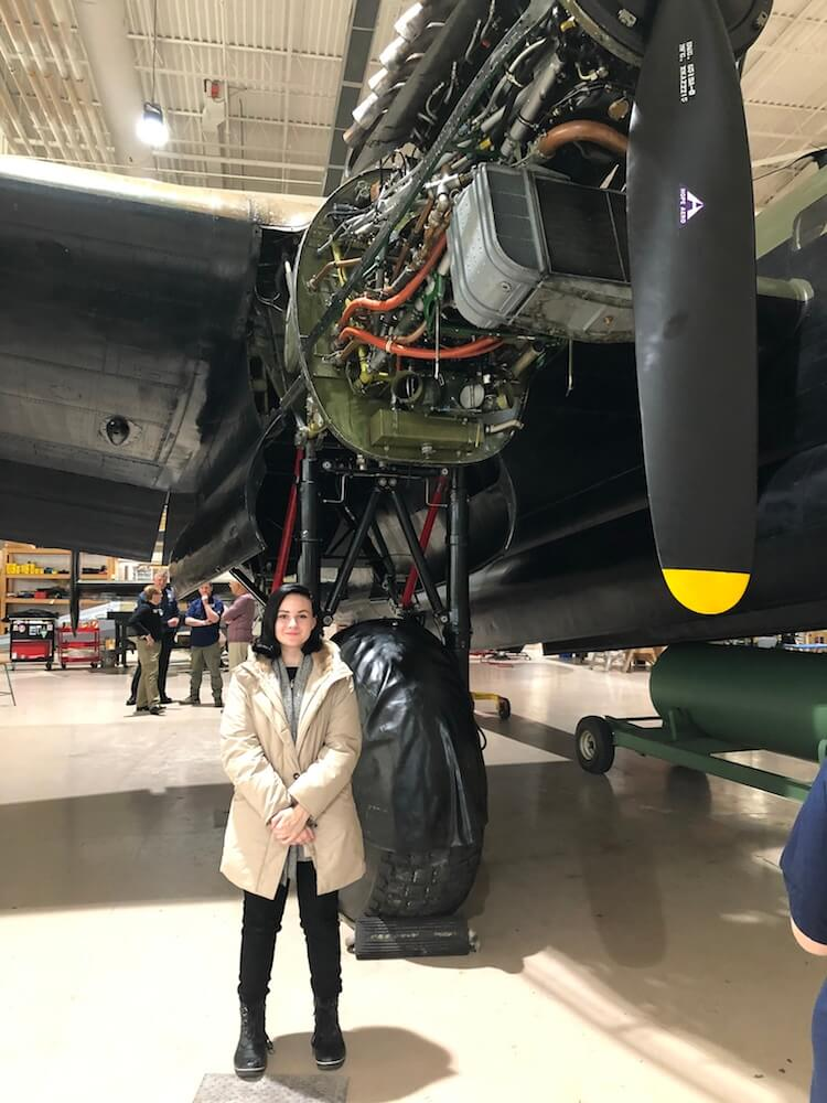 Bronwyn Rees Aviation Scholarship Winner