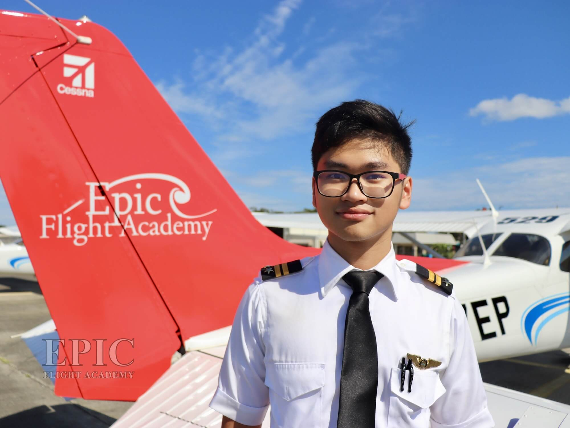 Reachta Lim earned his Instrument Rating