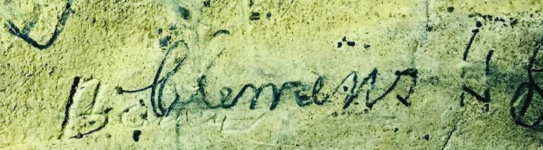 Sam Clemens Signature in Mark Twain Cave