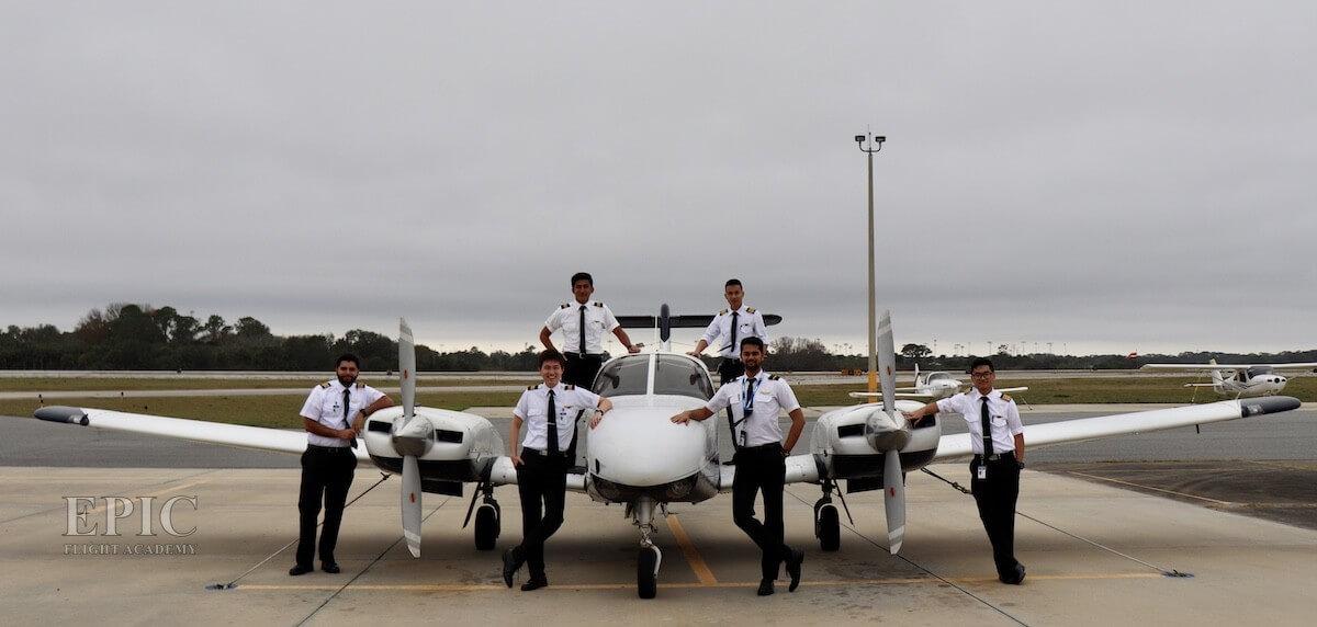 Epic Flight Academy Students Multi Engine