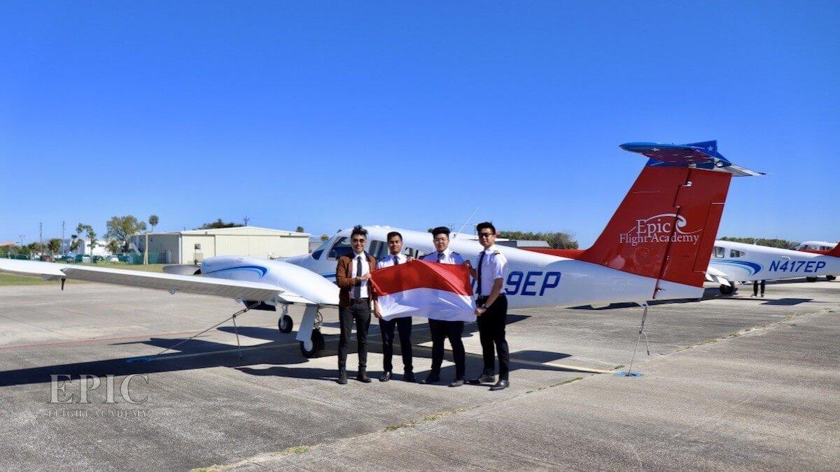 Indonesian Students Epic Flight Academy