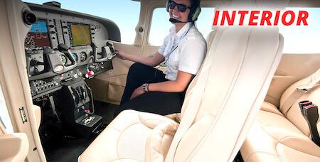 Cessna 172 Cabin Interior