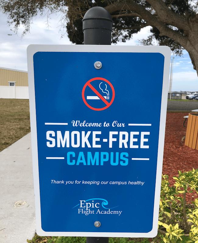 Campus Safety - Smoke-free