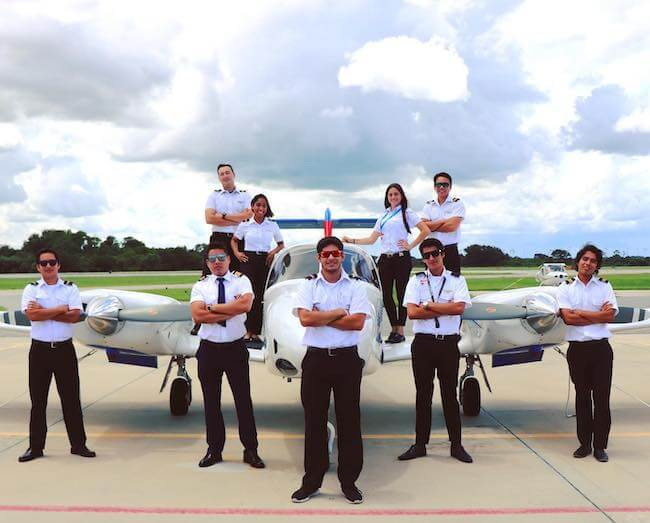 Epic Flight Academy Students