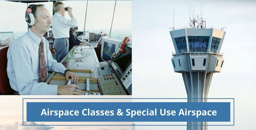 Airspace Classes and Special Use