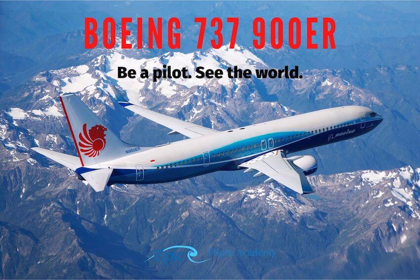 Boeing 737-900ER Jet
