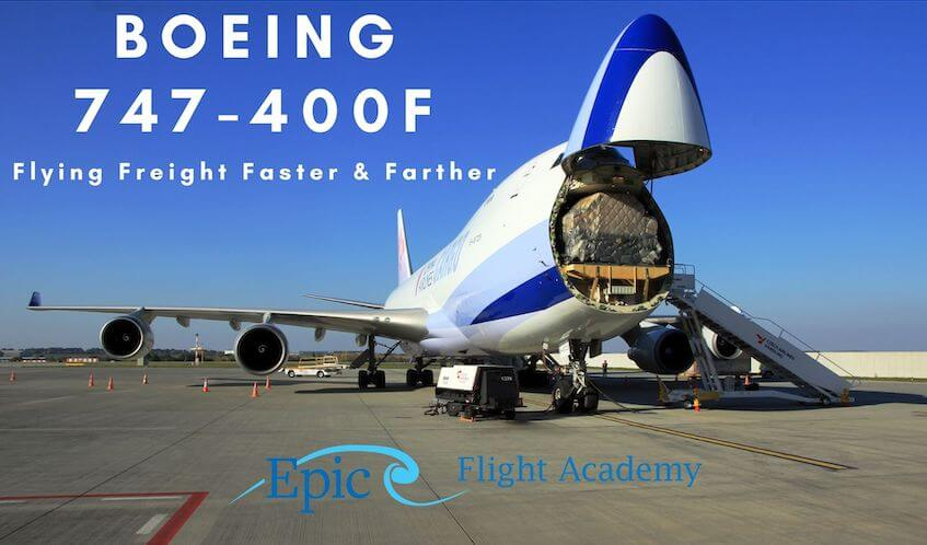 Boeing 747-400F Aircraft