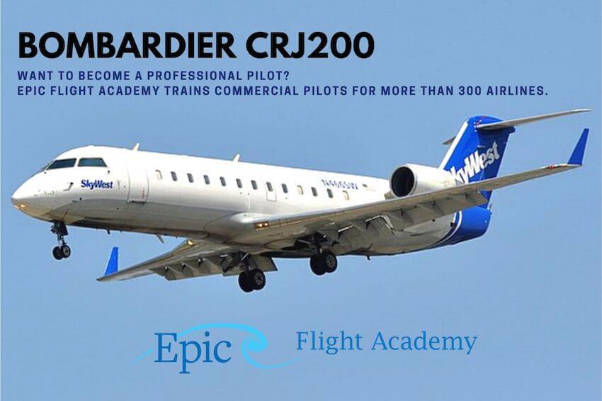 Bombardier CRJ200 Aircraft