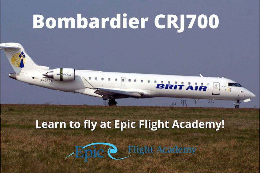 Bombardier CRJ700 Aircraft