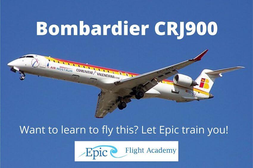 Bombardier CRJ900 Aircraft