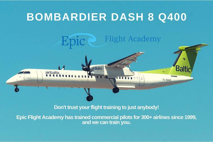 Bombardier DCH-8-400 Aircraft