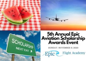 Epic Aviation Scholarship Awards 2020