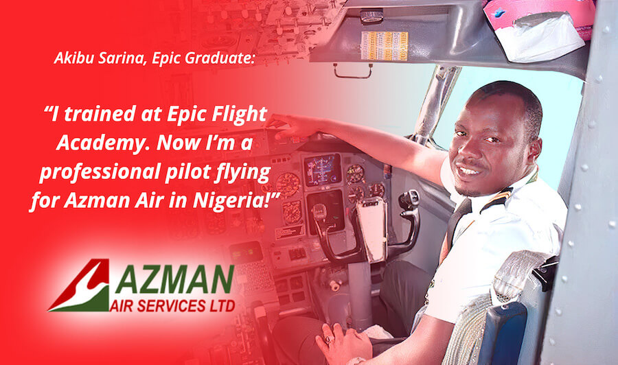 Epic Graduate Flies for Azman Air Services