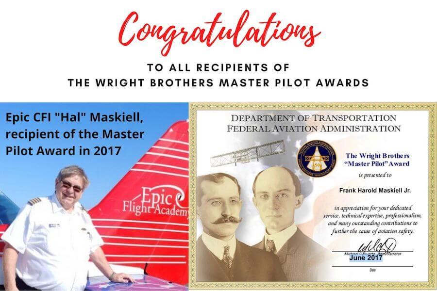 Master Pilot Award