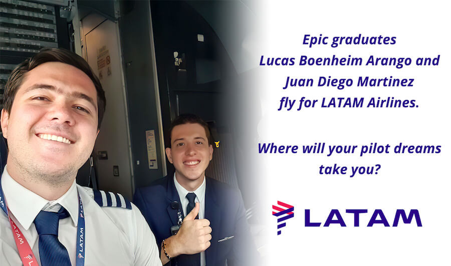Epic Graduates LATAM Airlines Group
