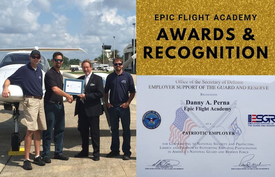 Epic Flight Academy Awards and Recognitions