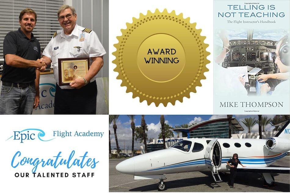 Epic Flight Academy Employee Awards and Honors