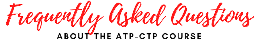 FAQ ATP-CTP Course