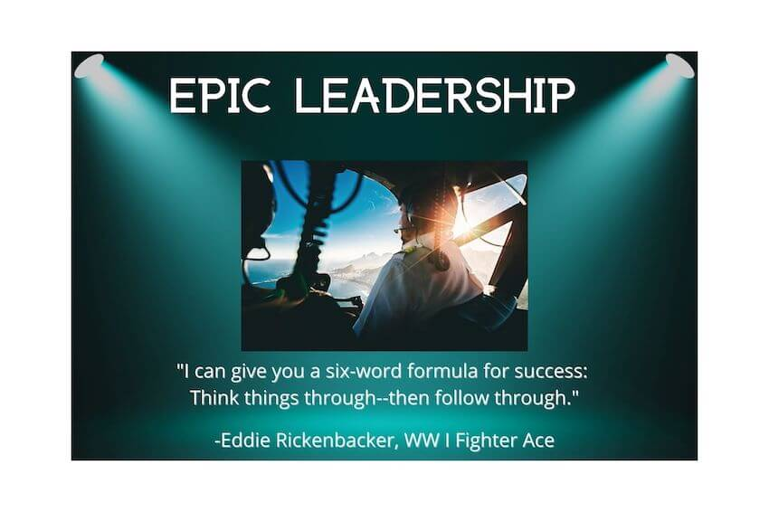 Leadership at Epic Flight Academy