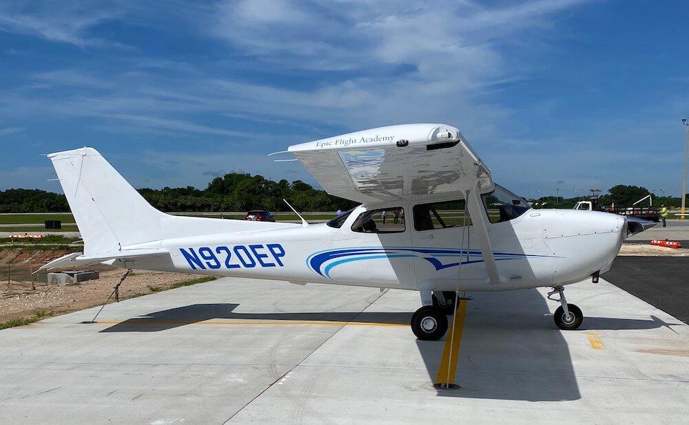 New Cessna 172 Skyhawk