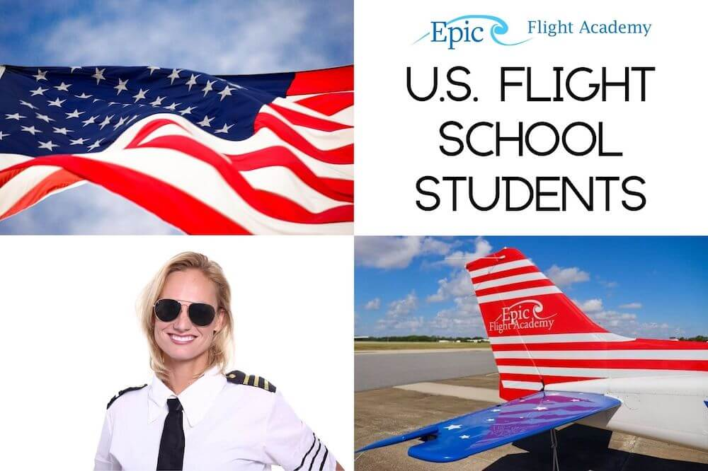 US Flight School Students