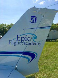 Epic Flight Academy Training Aircraft