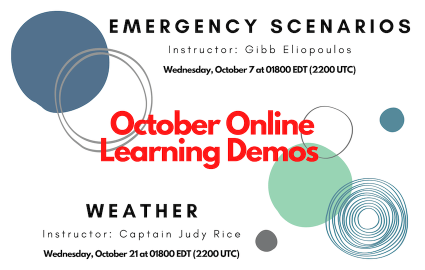 October Online Learning Demos