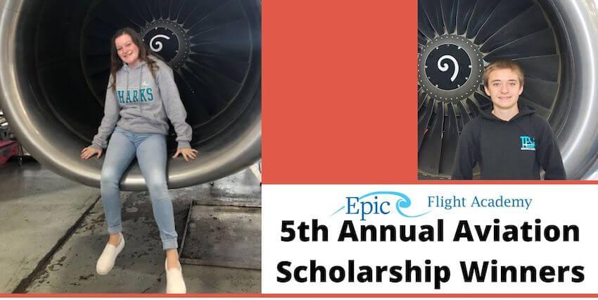 5th Annual Aviation Scholarship Winners