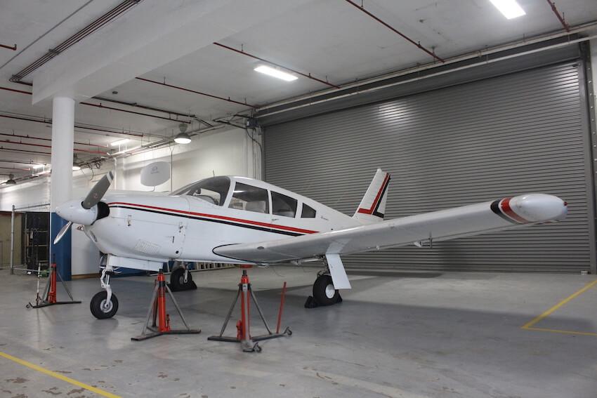 Aircraft Mechanic Training Plane