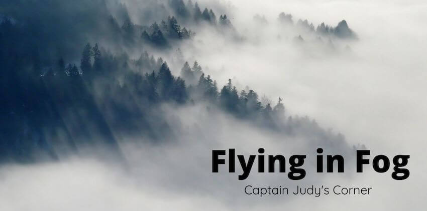 Flying in Different Types of Fog