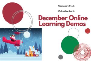 December Online Learning Demo