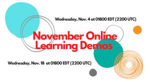 November Online Learning Demo
