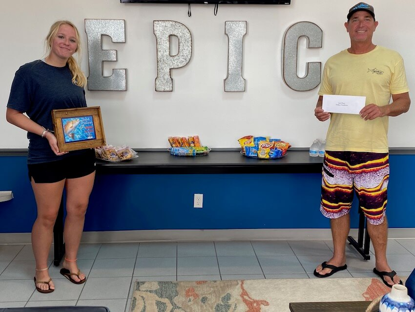 Second Place Fishing Winners 2020